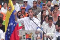 Juan Guaidó juramentó a voluntarios por la ayuda humanitaria