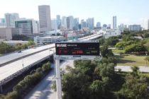 Crean aviso para evitar el tráfico cuando los puentes del Río de Miami estén elevados (video)