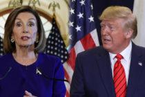 Nancy Pelosi entregará la próxima semana al Senado los cargos políticos contra Trump