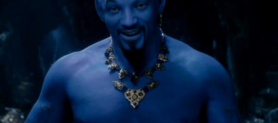 Will Smith no deja de sorprendernos. Esta vez lo veremos como el Genio de la Lámpara