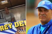 Lázaro Vargas, de estrella del béisbol cubano a vender pan con lechón en las calles de Miami